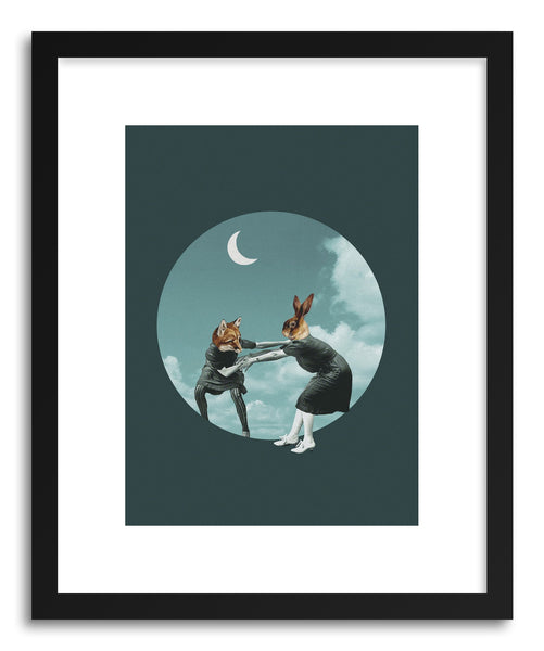 Art print Chase The Night by artist Maarten Leon