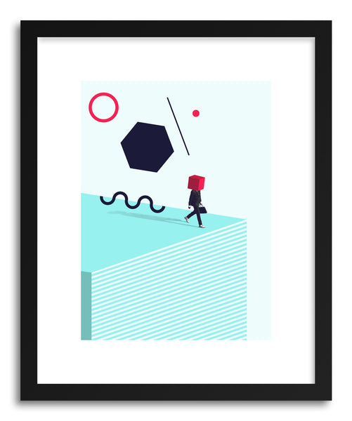 Art print D Is For Disorder by artist Maarten Leon