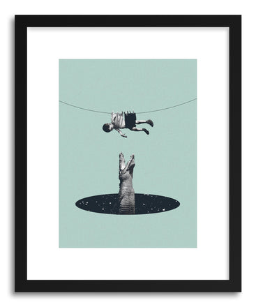 Art print Don't You Worry About Me by artist Maarten Leon