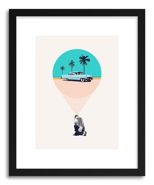Art print F Is For Future Possibilities by artist Maarten Leon