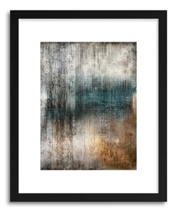 hide - Art print Cascada by artist Mixgallery in natural wood frame