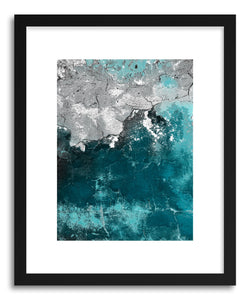 hide - Art print Gesso Tuequesa I by artist Mixgallery on fine art paper