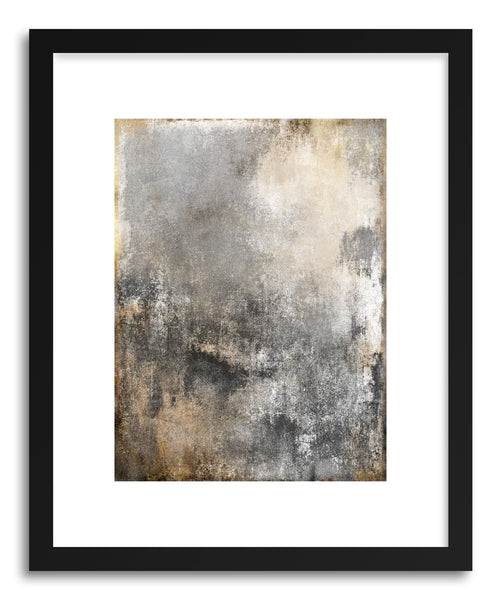 Art print Gold Mirror II by Mixgallery