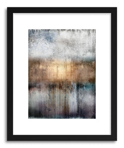 hide - Art print Golden Gate by artist Mixgallery in white frame