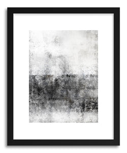 hide - Art print Illuminato by artist Mixgallery in white frame