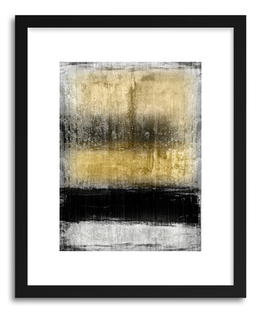 Art print Black Stain by Mixgallery