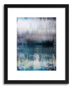 hide - Art print Blur II by artist Mixgallery in white frame