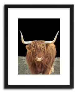 hide - Art print Stronsay by artist By The Horns on fine art paper