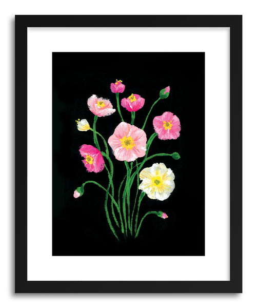 Fine art print Poppies by artist Skylar Kim