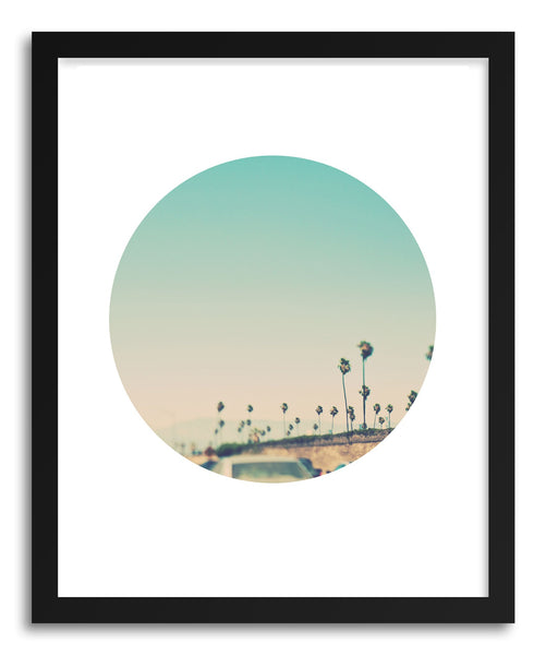 Fine art print LA Freeway by artist Myan Soffia