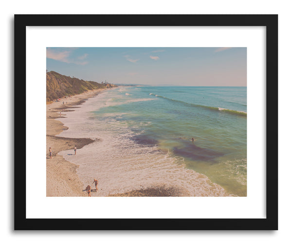 Fine art print Let's Go For A Swim by artist Myan Soffia
