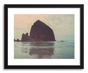 hide - Art print Oregon Memories No.1 by artist Myan Soffia in natural wood frame