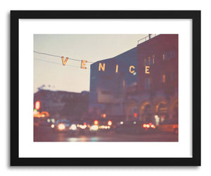 hide - Art print Venice At Night by artist Myan Soffia on fine art paper