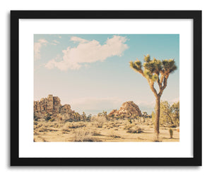 Fine art print Winter In The Desert No.3 by artist Myan Soffia