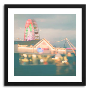 hide - Art print Lets Be Kids Again by artist Myan Soffia in white frame