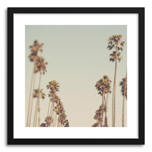 hide - Art print California Dreaming by artist Myan Soffia in white frame