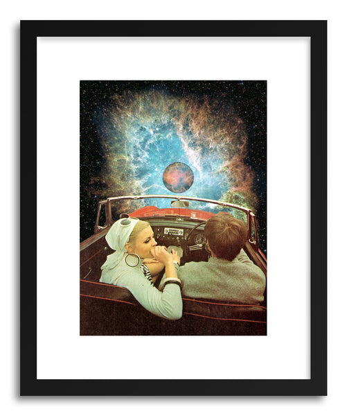 Fine art print Space Ride by artist Taudalpoi