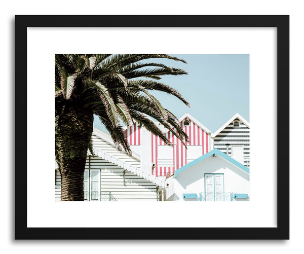 Fine art print Aveiro Candy Stripes by artist Ingrid Beddoes