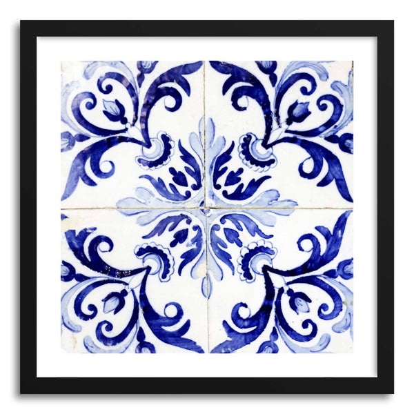 Fine art print Azulejos by artist Ingrid Beddoes