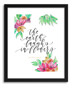 Fine art print Earth Laughs in Flowers by artist Peggy Dean