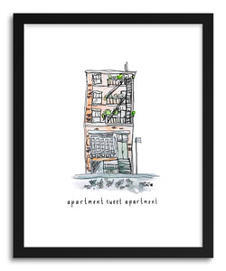 Fine art print Apartment Sweet Apartment by artist Peggy Dean