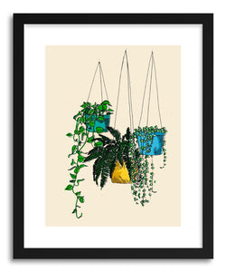 Fine art print Hanging Plants by artist Peggy Dean
