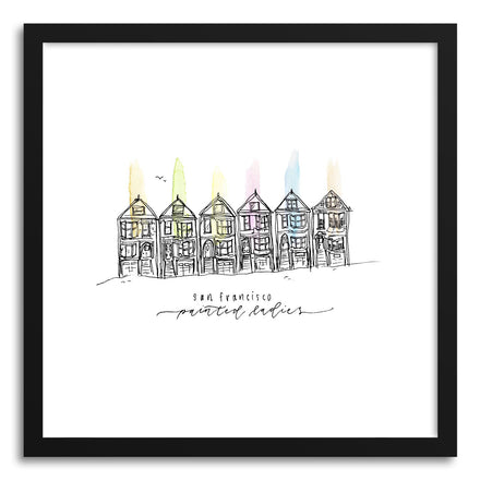 Fine art print Painted Ladies San Francisco by artist Peggy Dean