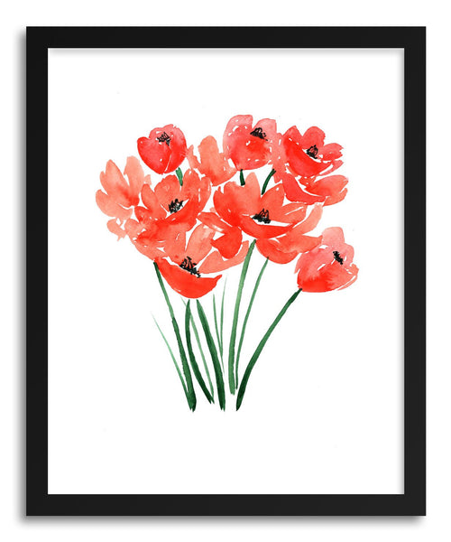 Fine art print Poppy Field Poppies by artist Peggy Dean
