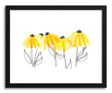 Fine art print Black Eyed Susan by artist Peggy Dean