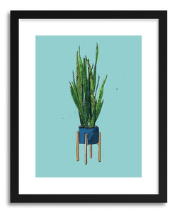 hide - Art print Snake Plant II by artist Peggy Dean on fine art paper