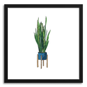 Fine art print Snake Plant by artist Peggy Dean