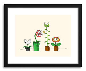 Fine art print The Mario Plants by artist Peggy Dean