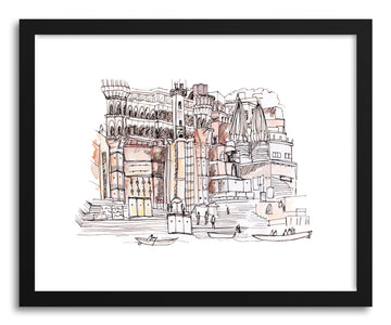 Fine art print Varanasi India by artist Peggy Dean