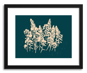Fine art print Wildflower Silhouette by artist Peggy Dean