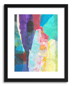 hide - Art print Luminescence by artist Kelley Albert in natural wood frame