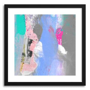 hide - Art print Pink Heels by artist Kelley Albert in white frame