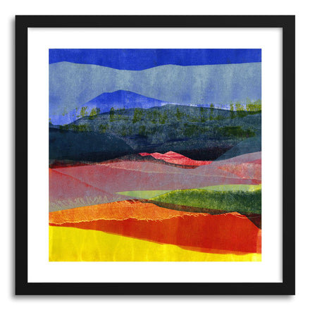 Fine art print Abstract Four by artist Kelley Albert