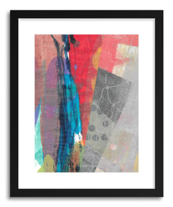 hide - Art print Blue Streak by artist Kelley Albert on fine art paper