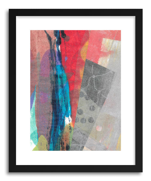 Fine art print Blue Streak by artist Kelley Albert