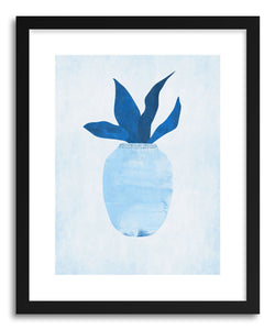 hide - Art print Blue Vase by artist Susu Stolle on fine art paper