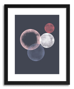 Fine art print Circles I by artist Susu Stolle