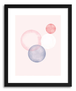 Fine art print Circles II by artist Susu Stolle