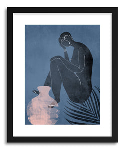 Fine art print Greece Listen to My Inner Own Voice by artist Susu Stolle