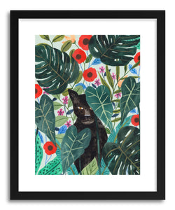 hide - Art print Black Jargual by artist Ploypisut on fine art paper