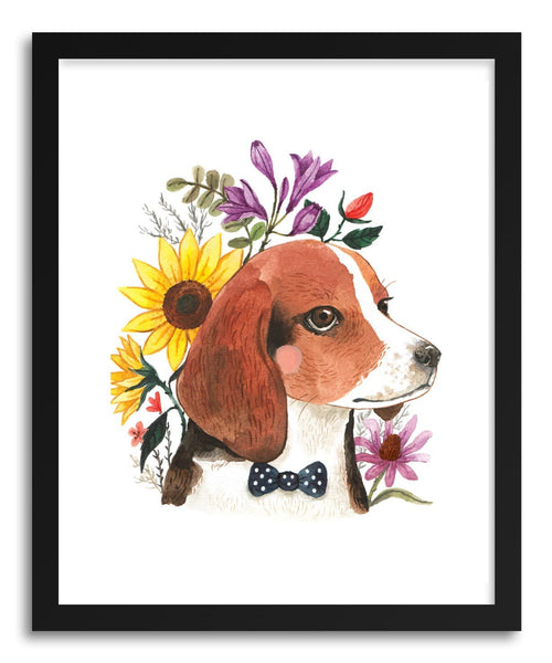 Fine art print Dog by artist Ploypisut