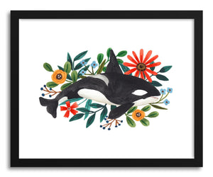 hide - Art print Orca by artist Ploypisut on fine art paper
