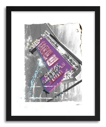 Fine art print Cafe by artist Michael Corrente