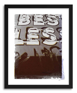 Fine art print Less by artist Michael Corrente