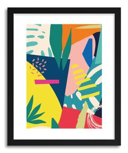 hide - Art print Barcelona by artist Seija Chowdhury on fine art paper