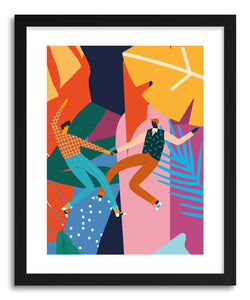 hide - Art print Dancing With My Love by artist Seija Chowdhury on fine art paper